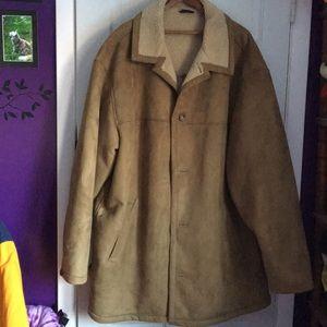 Other - Men's suede car coat